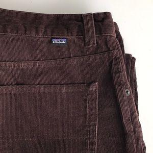 Patagonia Chocolate Brown Corduroy pants size 35